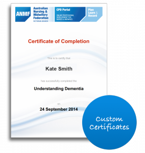 Online induction certificates